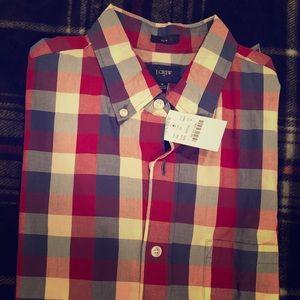 Brand New J-Crew Short-Sleeve Shirt
